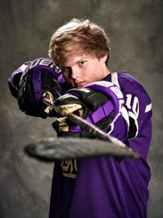 Lipscomb Academy hockey player Sean Hagan