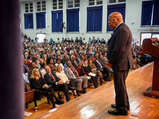 civil rights hero john lewis receives historic surprise in nashville
