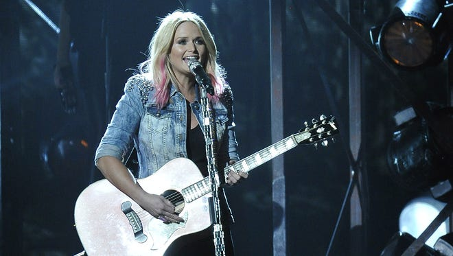 """Miranda Lambert will perform in the """"Country Hits Back"""" concert on Wednesday at Franklin Theatre."""