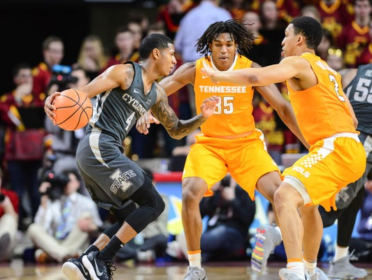 NCAA Basketball: Tennessee at Iowa State
