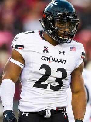 Former University of Cincinnati linebacker Eric Wilson is the highest rated ex-Bearcat entering the 2017 NFL draft.