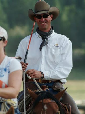 Equine trainer Jesse Peters will perform Friday at the Richland County Fairgrounds.