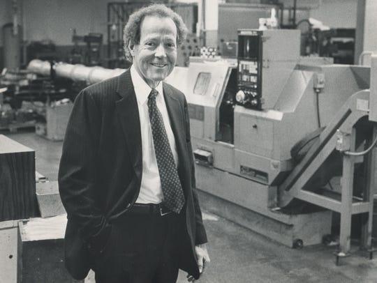 Gilbert Richards, chairman of Richards Industires,