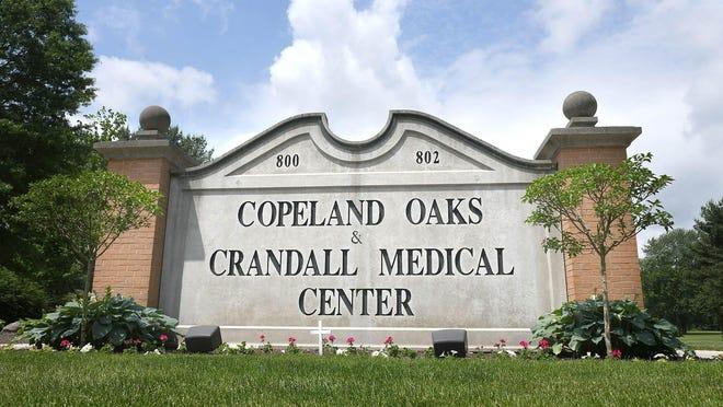 Entrance to Copeland Oaks & Crandall Medical Center in Sebring.  Photo taken June, 10,2020.