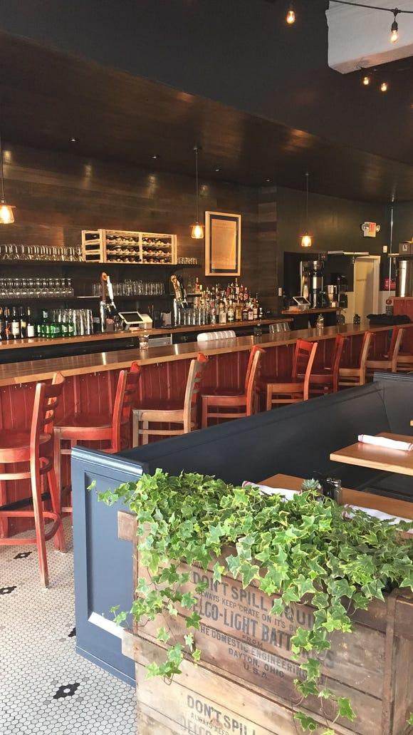 The bar at Revolution Rotisserie