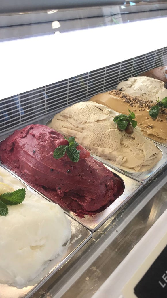 Customers can enjoy a free scoop of gelato Thursday