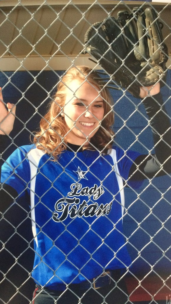 McDowell softball player Karly McRary
