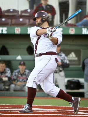 Mississippi State senior homered in his team's 13-10 loss on Friday.