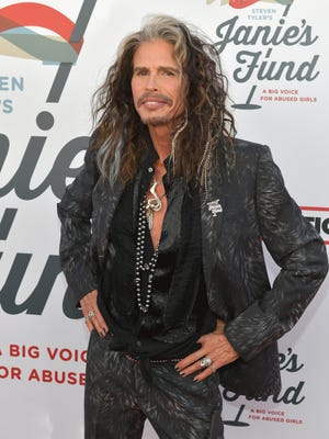 Steven Tyler at Steven Tyler and Live Nation presents Inaugural Janie's Fund Gala & GRAMMY Viewing Party at Red Studios on Jan. 28, 2018 in Los Angeles.