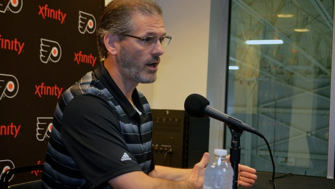 Flyers general manager Ron Hextall believes the team is in a good spot for next year's expected expansion draft.