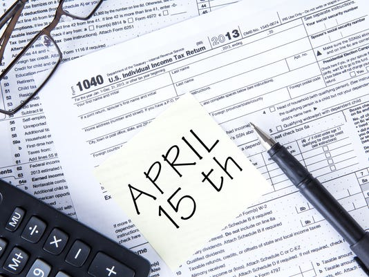 April 15: National Tax Day