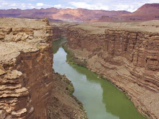 Water rights: Arizona v. California