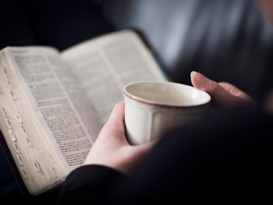 Affirmations, meditation or reading the Bible puts
