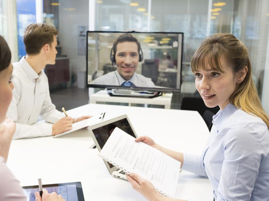 Free apps like Skype make conference calls easy for