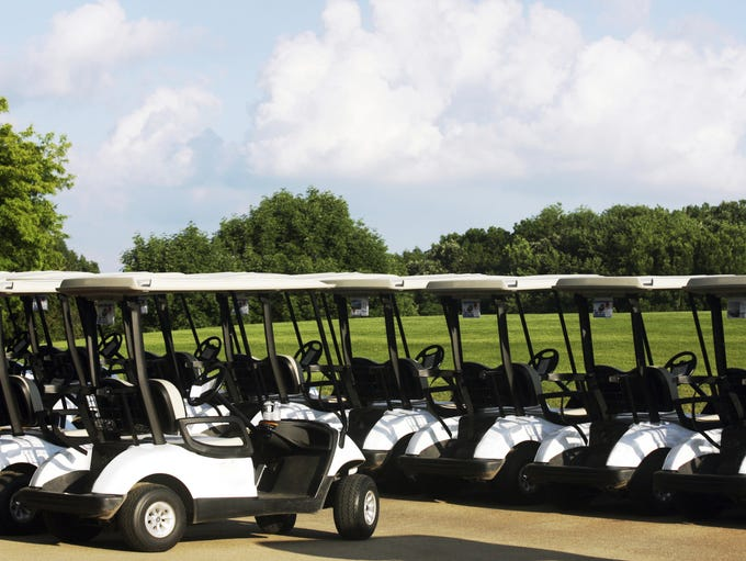 Five quick things to know about golf carts.