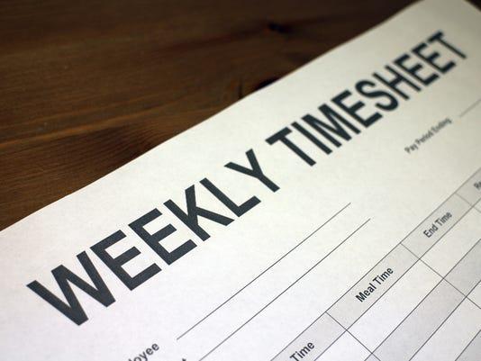 Worker timesheet
