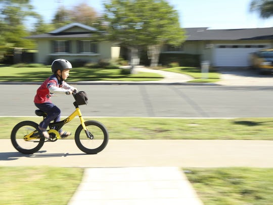 Something seemingly simple like riding a bike can be challenging for kids with Sensory Processing Disorder.