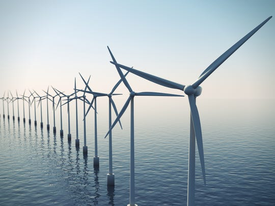 A wind farm off the coast of Ocean City is in the planning