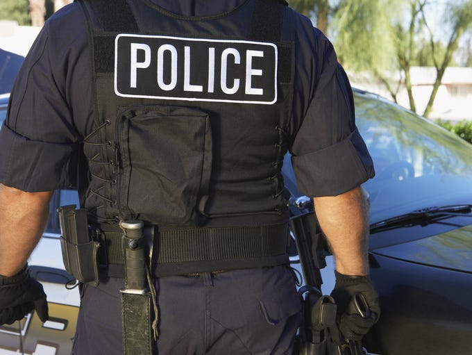 The average police salary tops $100,000 at more than