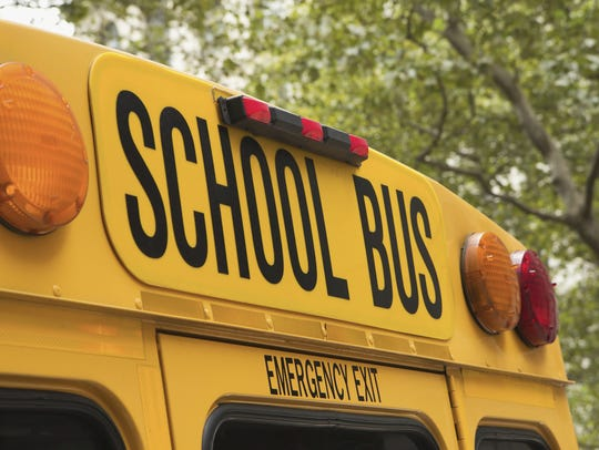 A Monett school bus carrying 20 kindergarten students was involved in a crash Monday.