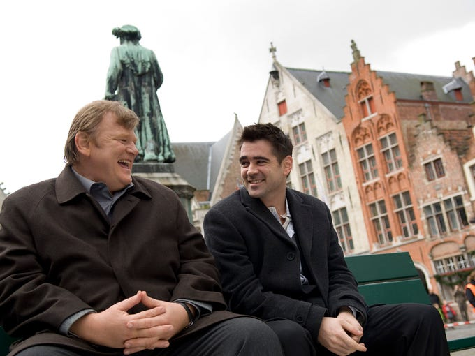 'In Bruges'   Colin Farrell and Brendan Gleeson make