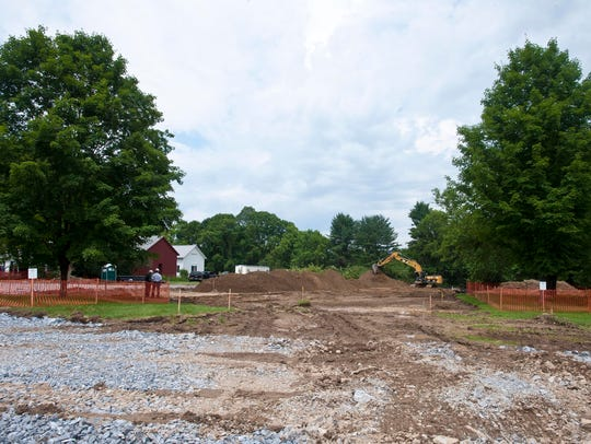 Construction is already underway as groundbreaking