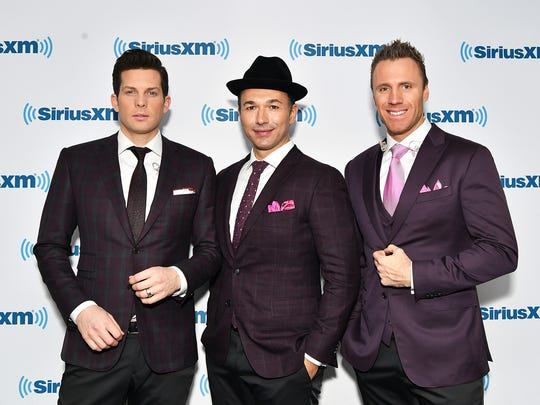 Clifton Murray (left), Victor Micallef and Fraser Walters were originally billed as the Canadian Tenors. The name changed to the Tenors in 2012.