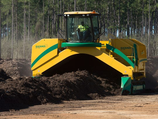 The Emerald Coast Utilities Authority has begun composting operations at the Central Water Reclamation Facility in Cantonment.  Under the new program, ECUA will combine yard waste materials with organic compounds from the water treatment facility to create the new compost product.