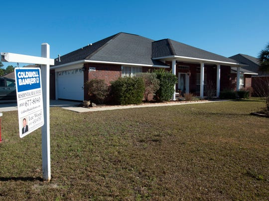 Coldwell Banker lists this Pensacola home, located on Pitcher Plant Circle off Bauer Road, at $325,000. Although mortgage interest rates are set to rise, experts believe homes in the Pensacola region should remain mostly affordable.