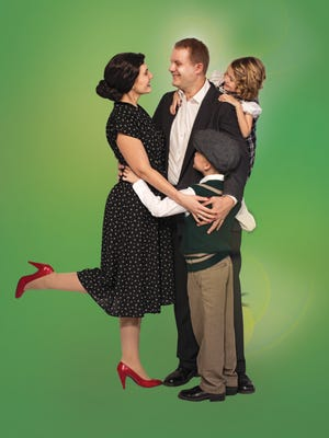 """At the Paramount, """"It's a Wonderful Life"""" will be staged at 7:30 p.m. Nov. 17, 18, 24, 25 and Dec. 1 and 2. Matinee performances will begin at 2 p.m. on Nov. 19, 25, 26 and Dec. 2, 3."""