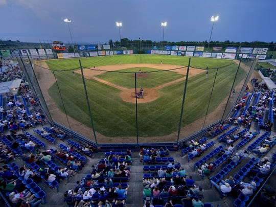 Centene Stadium is home the Great Falls Voyagers, a Minor League Baseball team.