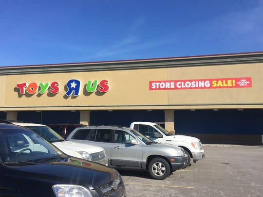 Toys R Us, at 1530 W Ridge Road in Greece, NY, will
