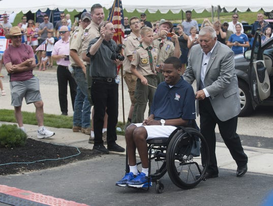 Disabled Vet gets new home