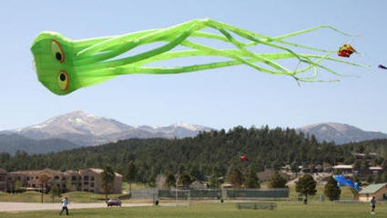 Go fly a kite with Village of Ruidoso Parks and Recreation from 9 a.m. to 4 p.m. September 25 at White Mountain Recreation Complex at Hull Rd.