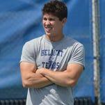 Marico Antun is Belmont's new men's tennis coach.