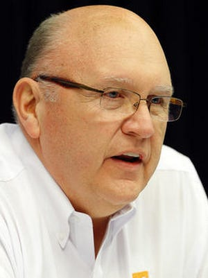 Vols offensive coordinator Mike DeBord has relied heavily on a rushing attack so far this season.