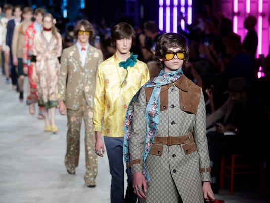 Gucci men's Spring-Summer 2016 collection