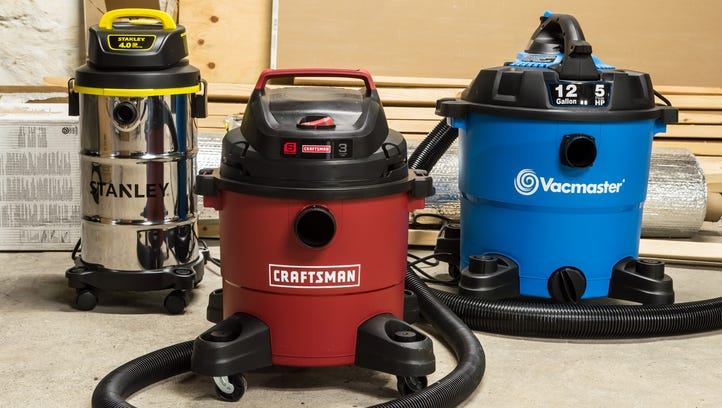 A wet/dry vac has to work, no matter what