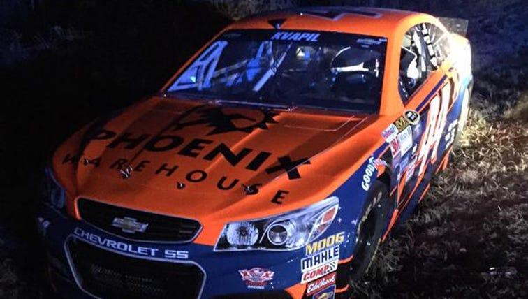 Stolen NASCAR racecar found near Atlanta