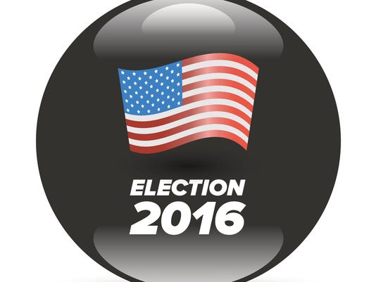 United States Election Vote Badge