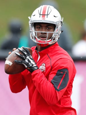 J.T. Barrett was suspended for one game after being charged with drunk driving.