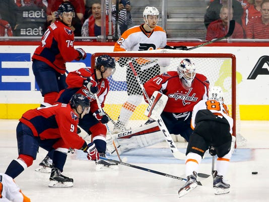 NHL: Stanley Cup Playoffs-Philadelphia Flyers at Washington Capitals