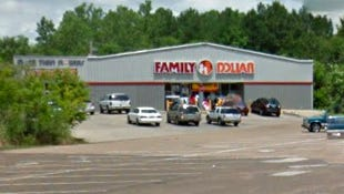 Family Dollar store on Nakoma Drive in Jackson, Miss.