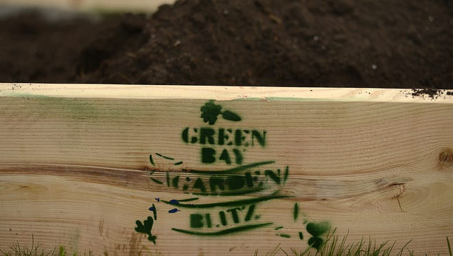 Green Bay Garden Blitz is selling raised bed garden boxes again this year for $150.