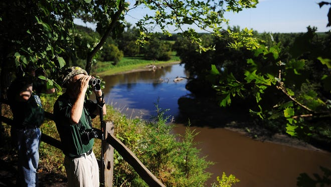 Joe Ahlquist / Argus Leader Visitors to state parks such as Good Earth State Park, southeast of Sioux Falls, increased by 140,000 people in 2016. Visitors to state parks such as Good Earth State Park, southeast of Sioux Falls, increased by 140,000 people in 2016.