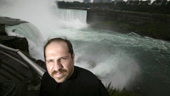 Kirk Jones at Niagara Falls in 2004.