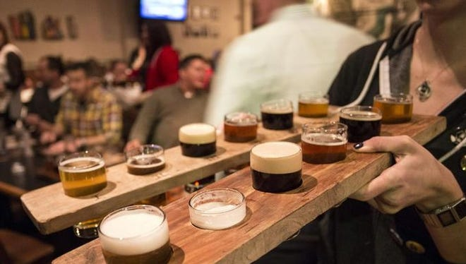 Against the Grain Brewery at 401 East Main Street has a rather large operation that handles the production of craft beer, along with bottling and distribution, and boasts a family-friendly restaurant.