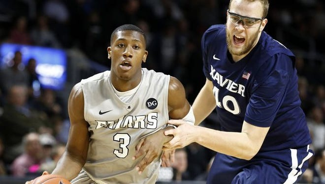 Senior center Matt Stainbrook, ranked fourth in the Big East in field goal percentage (62.3), is aiming to return Xavier to the win column Saturday against DePaul. The Musketeers lost to the Blue Demons Jan. 3.
