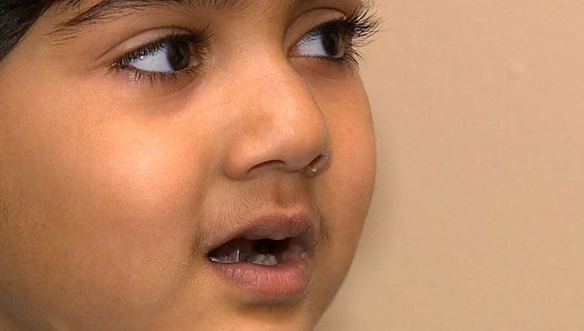Implant gives Texas girl the gift of hearing.