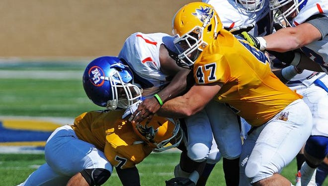 Augustana will be without linebacker Brandon Mohr for the first half of Saturday's game against USF.